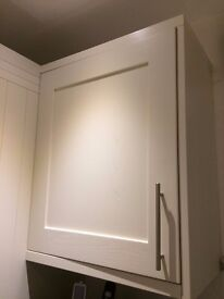 COOKE & LEWIS HIGH GLOSS CREAM DOOR 600MM Wide (Pack R)