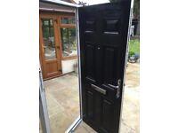 Composite external fire rated door
