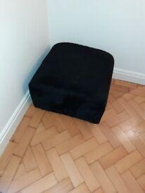 FREE Black IKEA Footstool