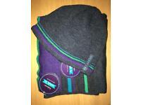 Brand New Moshulu Men's Hat & Scarf