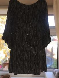 Sparkly/glittery part dress size 12