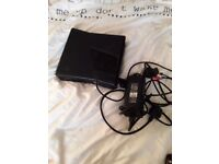 Xbox 360 with power pack all the cables no control pad