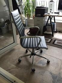 Eames style High Back Ribbed Executive Computer Office Chair