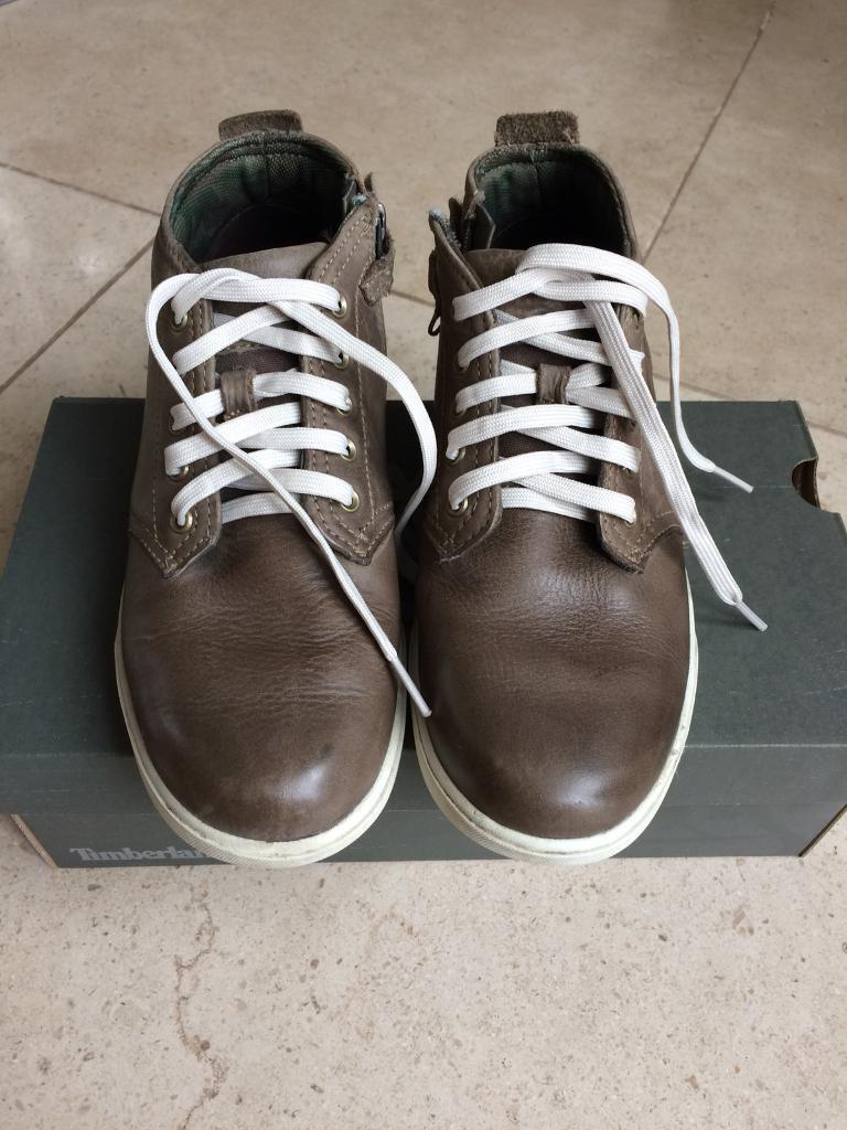 Boys Timberland shoe size 5.5