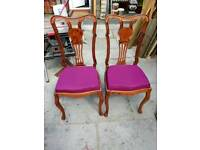 2 beautiful chairs