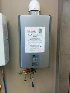 Chauffe-eau instantané au gaz propane Direct Vent de 7.5 gal/minute, NEUF