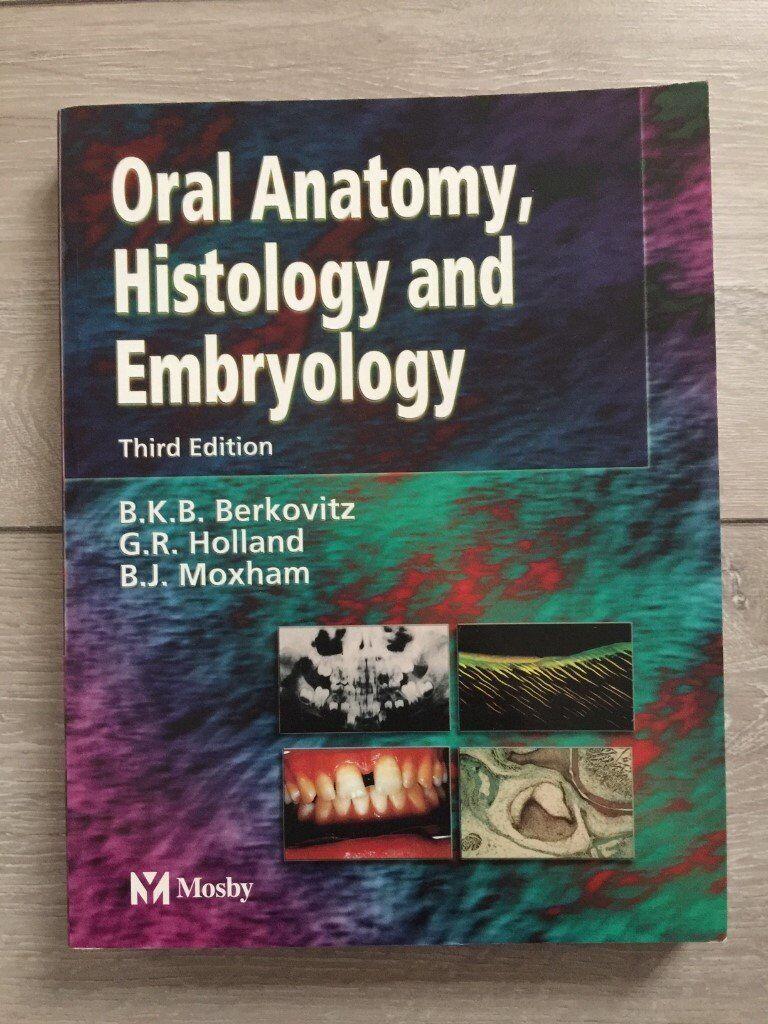 Oral Anatomy Histology And Embryology By Bernard J Moxham Barry