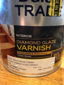 DULUX DIAMOND GLAZE VARNISH 3.5 Litres