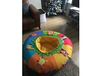 Baby inflatable cushion