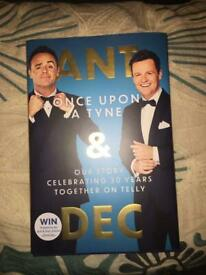 Ant and Dec Once Upon A Tyne book
