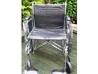 "Sentra EC Bariatric Wheelchair 24"""