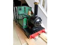 7 & quarter inch gauge train