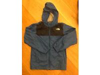 The North Face Shell Youth Boys Rain Hooded Jacket