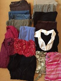 Maternity clothes bundle :- size 10 from Next, H&M and Dorothy Perkins