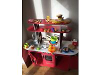 Early learning wooden kitchen take today