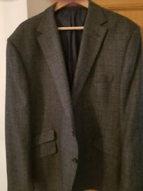 Marks & Spencer Grey Checked Jacket