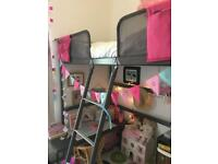 Ikea 'Tuffing' childs loft bed