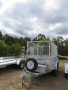 9X5 HYDRAULIC TIPPER TRAILER HIRE $90 (24Hrs) WITH CAGE Wamuran Caboolture Area Preview
