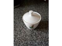 Small China jam pot
