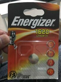 Energizer 1620 Lithium 3V Car Key battery
