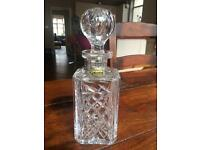 Lead Crystal Decanter