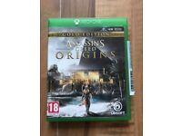 Assassins Creed origins , Xbox one , as new ! Price stands , no offers !