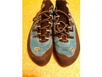 Boreal Jokers climbing shoes UK 8 - excellent condition
