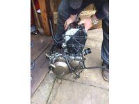 1999 ZX6R G2 Engine