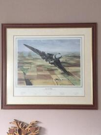 Avro Vulcan XH558 Up And Away Over The Fields Of Lincolnshire In September 1992