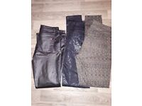 3 size 12 jeans/ trousers