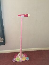 Kids microphone and stand