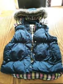 Girls quilted Gilet/Body warmer
