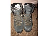 Scarpa Manta Walking Boots & Crampons.