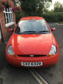 2008 Ford KA style red