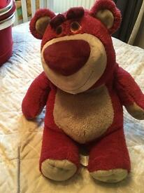 Large Disney Lotso Bear from Toy Story