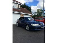 52 Saab Convertible Turbo 63k miles full history full mot may px/swap
