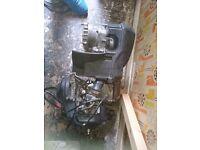 Sym 50cc two stroke engine