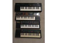 Mini Keyboards - Casio, Yamaha, Realistic Concertmate