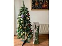 5 feet Christmas tree with decorations