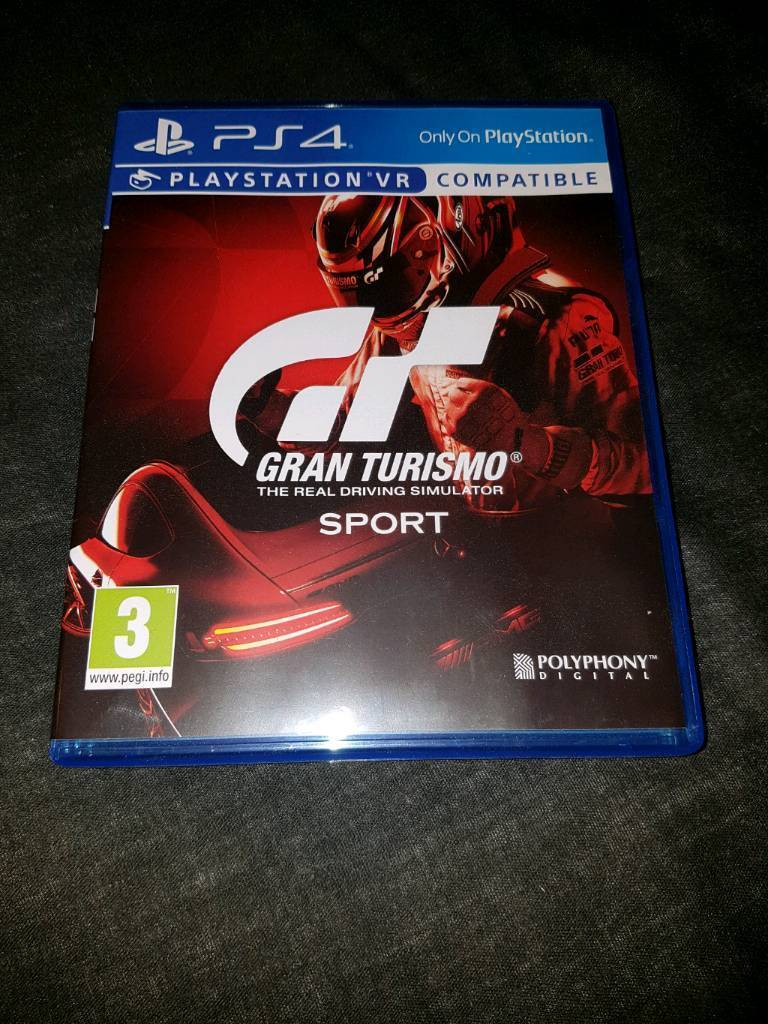 PS4 GAME GT SPORT