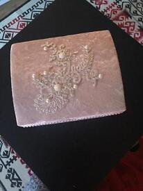 Velvet pink box