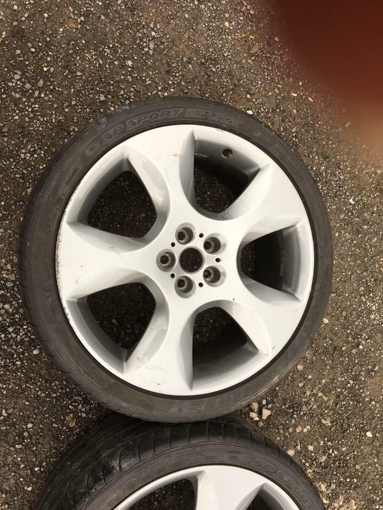 Jaguar XF xfs alloy wheels bargain