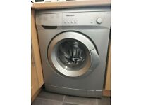 Silver Washing Machine - Bush - about 18 months old - Paisley