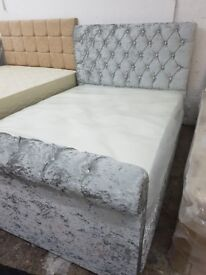 4FT6 Sleigh Bed. Only £229.99