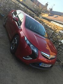 TRI COAT PREMIUM METALLIC CRYSTAL RED VAUXHALL AMPERA ELECTRON ELECTRIC HYBRID HATCHBACK CAR AUTO