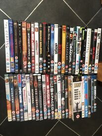 Large lot of 1000+ DVDs all 50p each