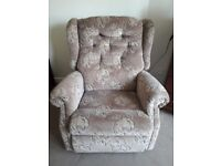 OLD FASHIONED ARMCHAIR (originally electric controlled but not now)