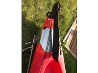 Triumph perception kayak with werner carbon fibre paddle and buoyancy aid