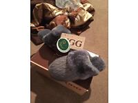 Brand new in the box UGG slippers s 5