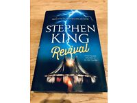 Stephen King Hard Back Book Excellent condition Revival